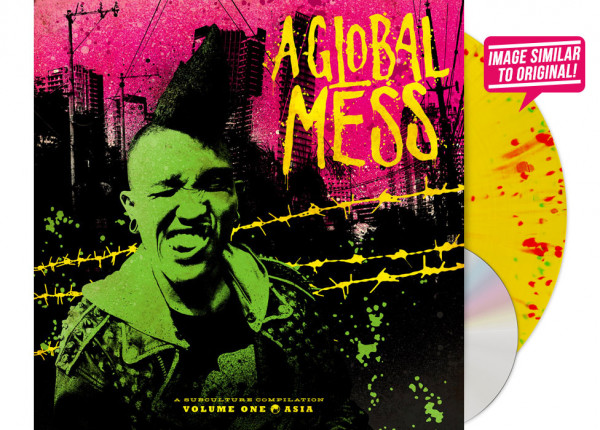 "V.A. - A Global Mess - Vol. One: Asia 12"" LP LTD SPLATTER INCL. CD"