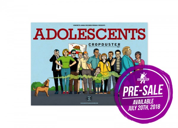 ADOLESCENTS - Cropduster Poster