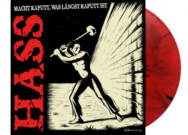 """HASS - Macht kaputt, was längst kaputt ist LTD 12"""" LP - RED"""