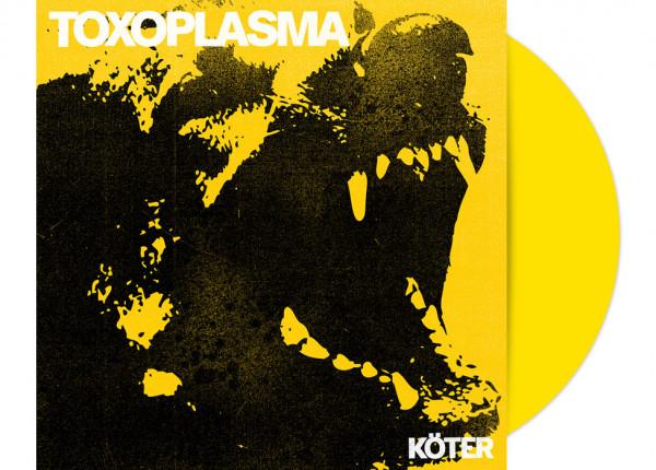 """TOXOPLASMA - Köter 12"""" LP - YELLOW"""