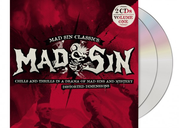 MAD SIN - Chills And Thrills ... / Distorted Dimensions 2CD