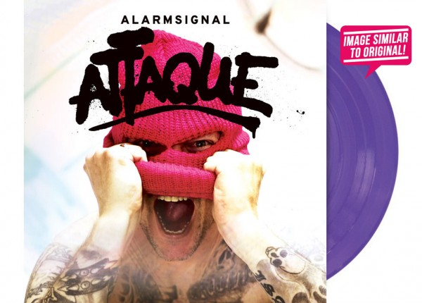 "ALARMSIGNAL - Attaque 12"" LP LTD - PURPLE"