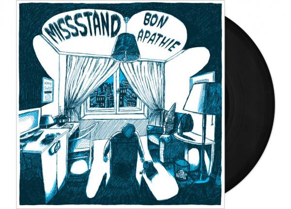 "MISSSTAND - Bon Apathie LTD 12"" LP - BLACK"
