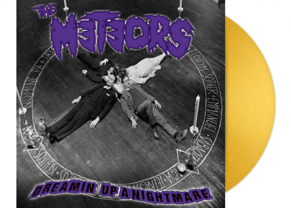 """METEORS, THE - Dreamin' Up A Nightmare LTD 12"""" LP - GOLD"""