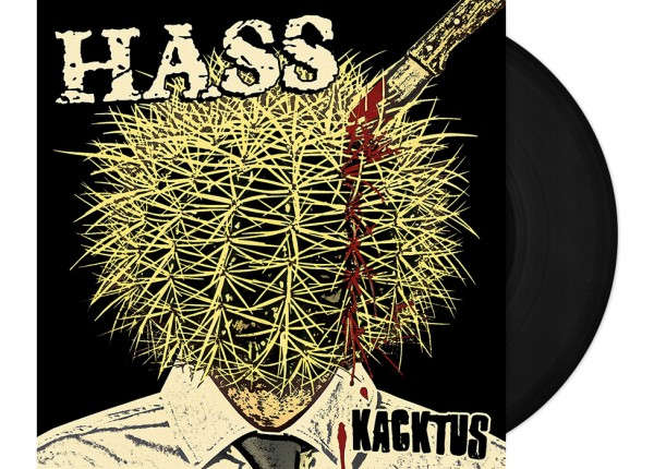 "HASS - Kacktus 12"" LP LTD - BLACK"